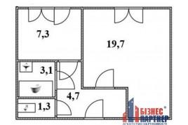 Продается 1 комнатная  квартира  в р-не ЮЗР в  г. Черкассы.