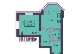 1 комнатная квартира по ул. Гагарина