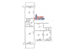 3 комнатная квартира на Мытнице