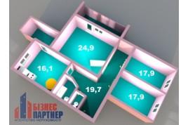 Продается 3-ком.квартира в новострое по Шевченко 135 (110кв.м.)