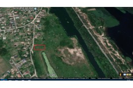 Продається земельна ділянка по вул. Набережна, Дахнівка