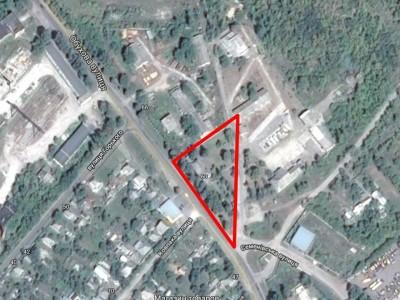 Земельна ділянка комерційного призначення в м. Золотоноша