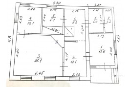 Продається недобудований будинок в с. Свидівок