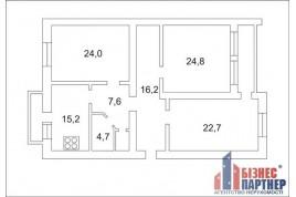 Продається 3-кімнатна квартира по бул. Шевченка