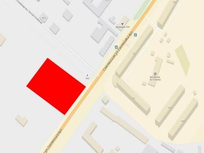 Продается земельный участок  по ул. Смелянская в г. Черкассы.