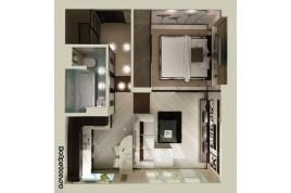 Продається 1-кім. кв. в новому будинку, з дизайнерським проектом!