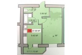 Продам 1 кімнатну квартиру в новому будинку