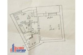 Продается  1 комнатная квартира по ул. Смелянская 2