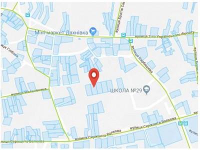 Продается участок под индивидуальное строительство, Дахновка