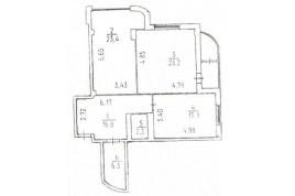 Продається 2 кімнатна квартира в новому будинку по вул. Дашкевича, 3