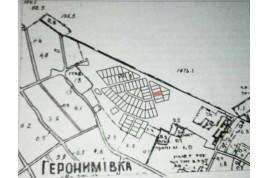 Продается земельный участок в с. Геронимовка в 7 км. от г. Черкассы.